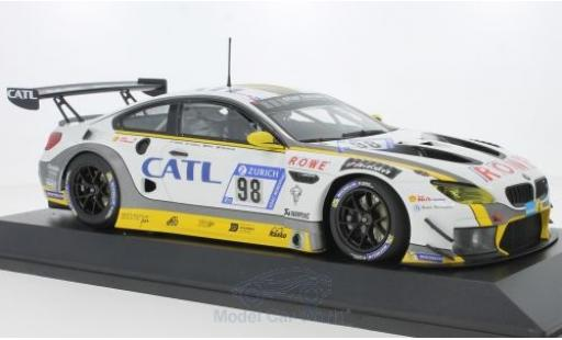 Bmw M6 1/18 Minichamps GT3 No.98 Rowe Racing 24h Nürburgring 2017 M.Palttala/N.Catsburg/A.Sims/R.Westbrook diecast model cars
