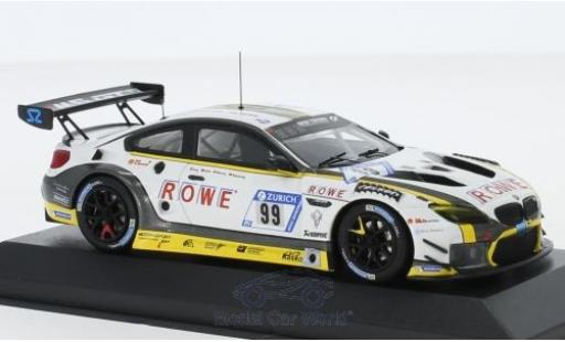 Bmw M6 1/43 Minichamps GT3 No.99 Rowe Racing 24h Nürburgring 2017 P.Eng/M.Martin/M.Basseng/A.Sims diecast model cars