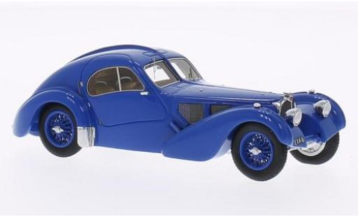 Bugatti 57 1/43 Minichamps Typ SC Atlantic blau 1938 First Class Collection modellautos