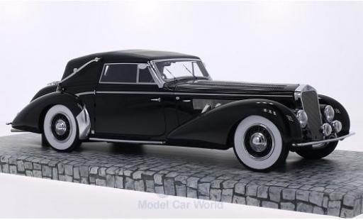 Delage D8-120 1/18 Minichamps Cabrio noire 1939 First Class Collection miniature