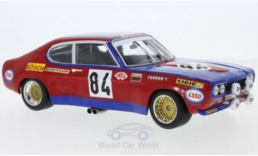 Ford Capri 2600 1/18 Minichamps MK I  2600 No.84 Shark Team 24h Le Mans 1972 J.C.Guerie/J.P.Rouget miniature