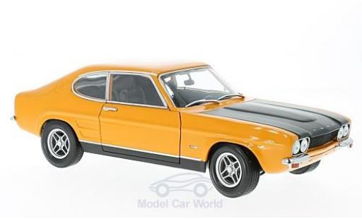Ford Capri 1/18 Minichamps MKI RS 2600 orange/noire 1970 miniature