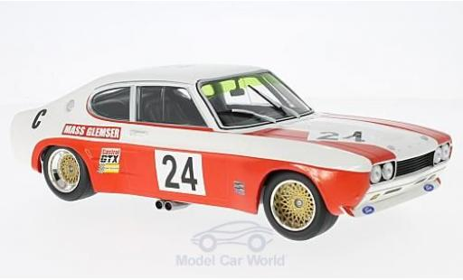 Ford Capri 2600 1/18 Minichamps RS No.24 Köln Lucky Strike 9h Kyalami 1971 mit Decals D.Glemser/J.Mass miniature