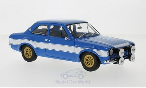 Ford Escort 1/18 Minichamps I 1600 FAV bleue/blanche 1970 miniature
