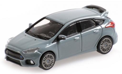 Ford Focus 1/87 Minichamps RS grigio 2018 modellino in miniatura