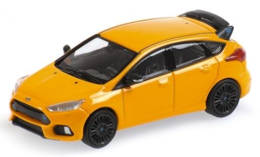 Ford Focus 1/87 Minichamps RS orange 2018 Shmee150 diecast model cars