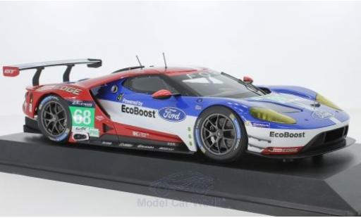 Ford GT 1/18 Minichamps No.68 Chip Ganassi Racing USA 24h Le Mans 2016 J.Hand/D.Müller/S.Bourdais miniature