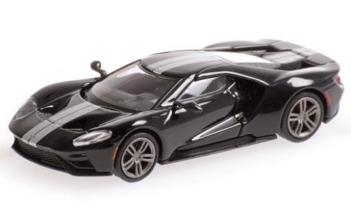 Ford GT 1/87 Minichamps black/grey 2018 diecast model cars