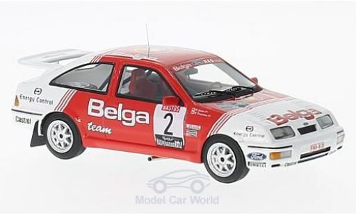 Ford Sierra Cosworth 1/43 Minichamps  Cosworth No.2 Belga Haspengouwrally 1987 R.Droogmans/R.Joosten miniature
