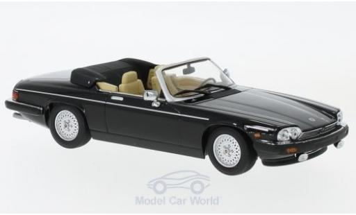 Jaguar XJ 1980 1/43 Minichamps -S Convertible black diecast model cars