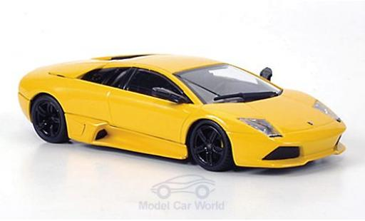 Lamborghini Murcielago LP640 1/43 Minichamps yellow 2006 Museum Collection diecast model cars