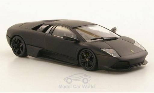 Lamborghini Murcielago LP640 1/43 Minichamps LP640 matt-noire 2008 Linea Opaca miniature