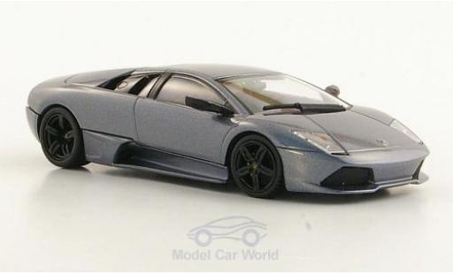 Lamborghini Murcielago LP640 1/43 Minichamps metallise grey 2006 diecast model cars