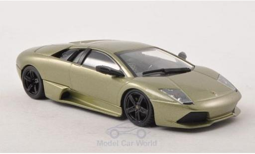 Lamborghini Murcielago LP640 1/43 Minichamps metallise green 2006 diecast model cars
