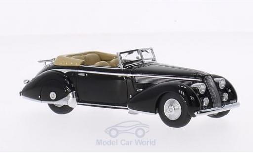 Lancia Astura 1/43 Minichamps Tipo 233 Corto noire RHD 1936 First Class Collection miniature