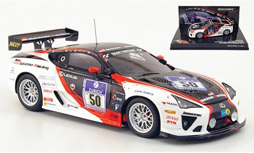 Lexus LFA 1/43 Minichamps No.50 Gazoo Racing 24h Nürburgring 2010 miniature