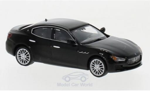 Maserati Ghibli 1/87 Minichamps black 2018 diecast model cars
