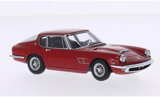 Maserati Mistral 1/43 Minichamps Coupe red 1963 diecast model cars
