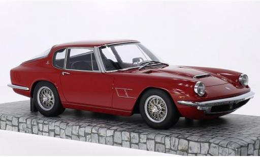 Maserati Mistral 1/18 Minichamps rouge 1963 First Class Collection miniature