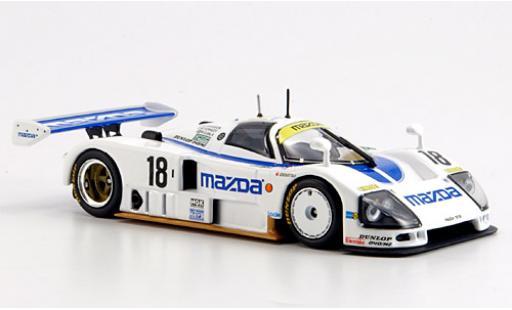 Mazda 787B 1/43 Minichamps No.18 24h Le Mans 1991 Kennedy/S.Johansson/M.S.Sala coche miniatura