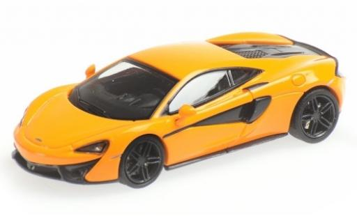 McLaren 570 1/87 Minichamps S orange miniature