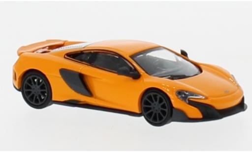 McLaren 675 1/87 Minichamps LT naranja miniatura