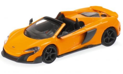 McLaren 675 1/87 Minichamps LT Spider naranja 2016 coche miniatura