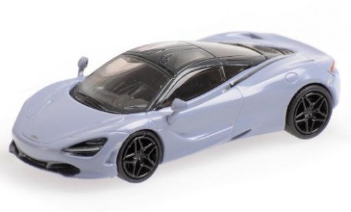 McLaren 720 1/87 Minichamps S grey diecast model cars
