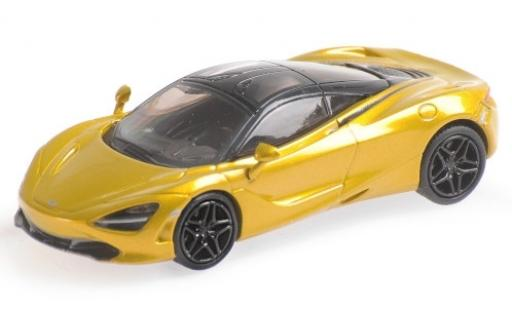 McLaren 720 1/87 Minichamps S metallise jaune miniature