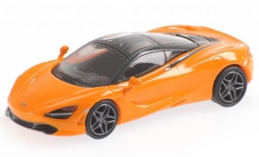 McLaren 720 1/87 Minichamps S orange miniature