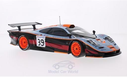 McLaren F1 1/18 Minichamps GTR No.39 Team Davidoff Gulf 24h Le Mans 1997 R.Bellm/A.Gilbert-Scott/M.Sekiya miniature