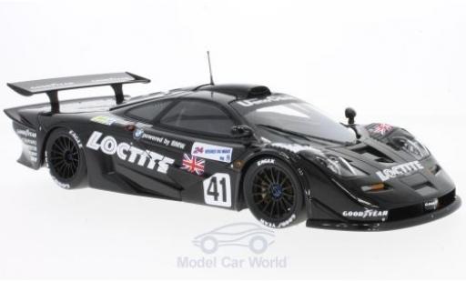 McLaren F1 1/18 Minichamps GTR No.41 Gulf Team Davidoff Loctite 24h Le Mans 1998 T.Bscher/E.Pirro/D.Capello ohne Vitrine miniature