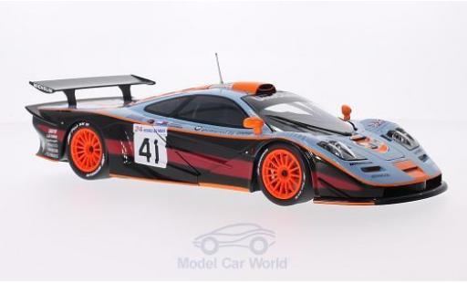 McLaren F1 1/18 Minichamps GTR No.41 Team Davidoff Gulf 24h Le Mans 1997 P-H.Raphanel/J.M.Gounon/A.Olofsson miniature