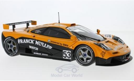 McLaren F1 1/18 Minichamps GTR No.53 Kokusai Kaihatsu Racing 24h Le Mans 1996 F.Giroix/M.S.Sala/J.D.Deletraz ohne Vitrine miniature
