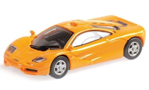 McLaren F1 1/87 Minichamps Roadcar orange 1994 diecast model cars