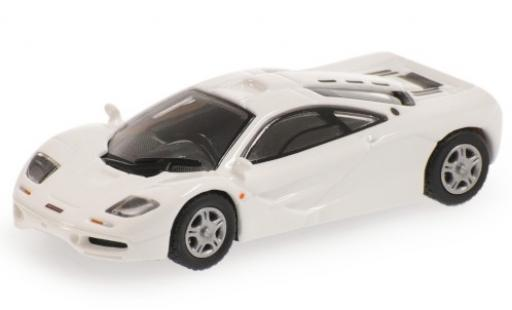 McLaren F1 1/87 Minichamps Roadcar white 1994 diecast model cars