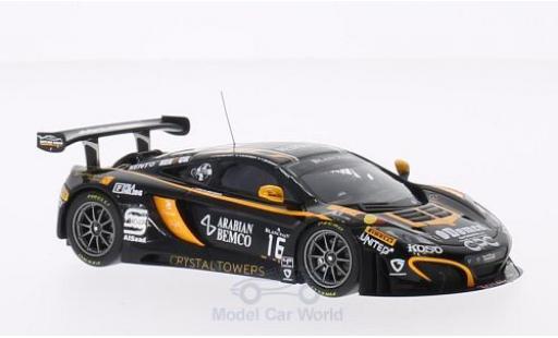 McLaren MP4-12C 1/43 Minichamps GT3 No.16 Boutsen Ginion Racing 24h Spa 2014 M.Schmetz/A.Demirdjian/S.Sarkissian/C.van der Drift miniature