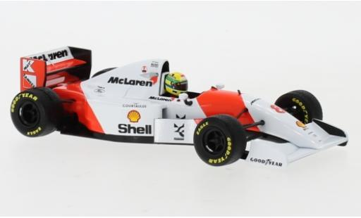 McLaren MP4-12C 1/43 Minichamps MP4/8 Ford No.8 Marlboro Formel 1 GP Europa 1993 A.Senna modellino in miniatura