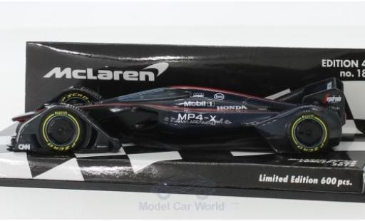 McLaren MP4-12C 1/43 Minichamps MP4-X Concept Car 2015 diecast model cars