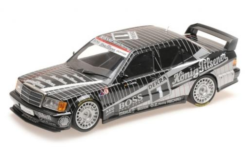 Mercedes 190 1/18 Minichamps E 2.5-16 Evo 1 No.1 AMG Boss / König-Pilsener DTM 1989 K.Ludwig miniature