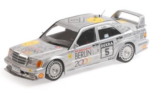 Mercedes 190 1/18 Minichamps E 2.5-16 EVO 2 No.5 Team AMG- Berlin 2000 DTM 1992 E.Lohr diecast model cars