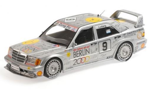 Mercedes 190 1/18 Minichamps E 2.5-16 EVO 2 No.9 Zung Fu Berlin 2000 Macau Guia Race 1992 K.Ludwig modellino in miniatura