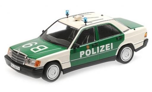 Mercedes 190 1/18 Minichamps E (W201) Polizei Baden-Württemberg 1982 miniature