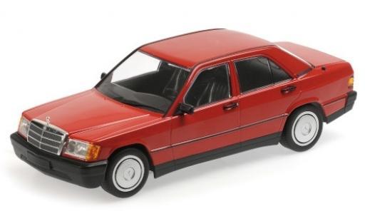 Mercedes 190 1/18 Minichamps E (W201) rosso 1982 modellino in miniatura