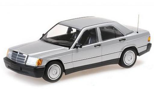 Mercedes 190 1/18 Minichamps E (W201) gris 1982 coche miniatura