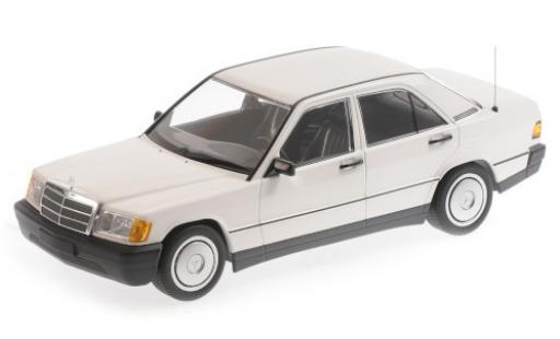 Mercedes 190 1/18 Minichamps E (W201) bianco 1982 modellino in miniatura