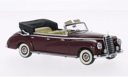 Mercedes 300 1/43 Minichamps Cabriolet (W186) rojo 1952 miniatura