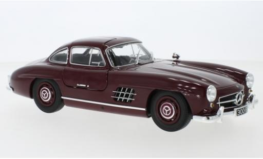 Mercedes 300 1/18 Minichamps SL (W198) rouge 1955 miniature