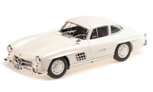 Mercedes 300 1/18 Minichamps SL (W198) blanche 1955 miniature