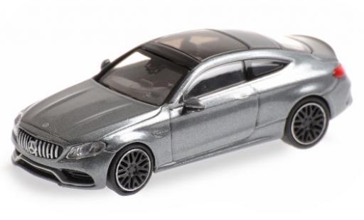 Mercedes Classe C 1/87 Minichamps AMG C63 Coupe (C205) matt-grise 2015 miniature